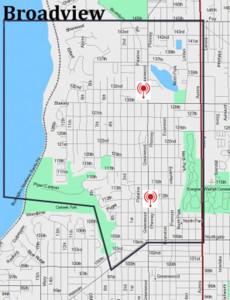 Broadview Hub Map